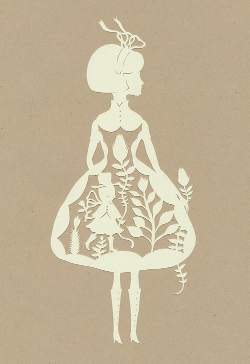 All About Paper Cutting: Old Soul Girls.