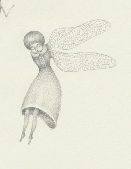 Libelula (girl detail)