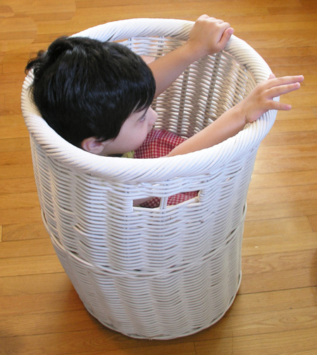Boy in basket (small)