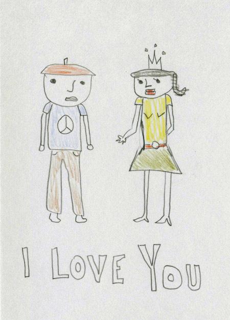 Card i love you copy