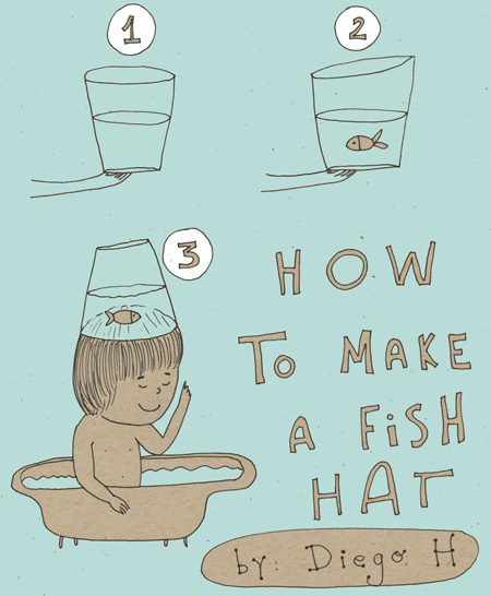 How to make a fish hat1