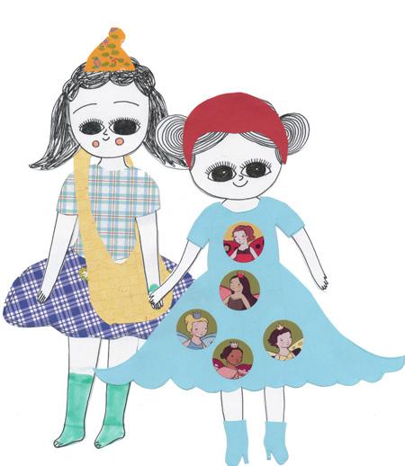 Paper dolls copy