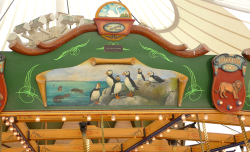 Carousel pinguins small