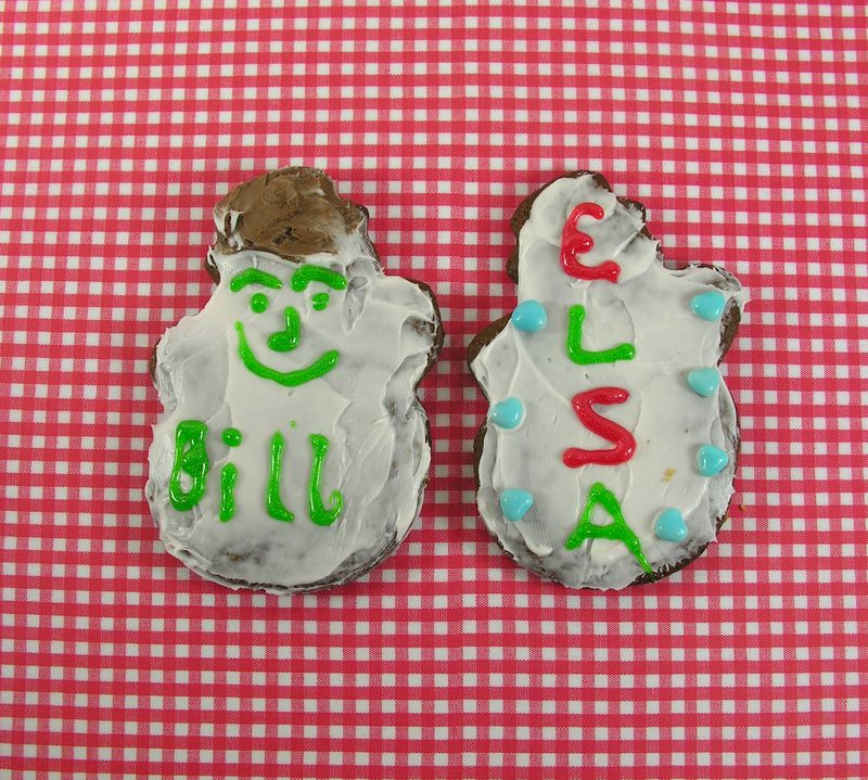 Bill and Elsa cookie
