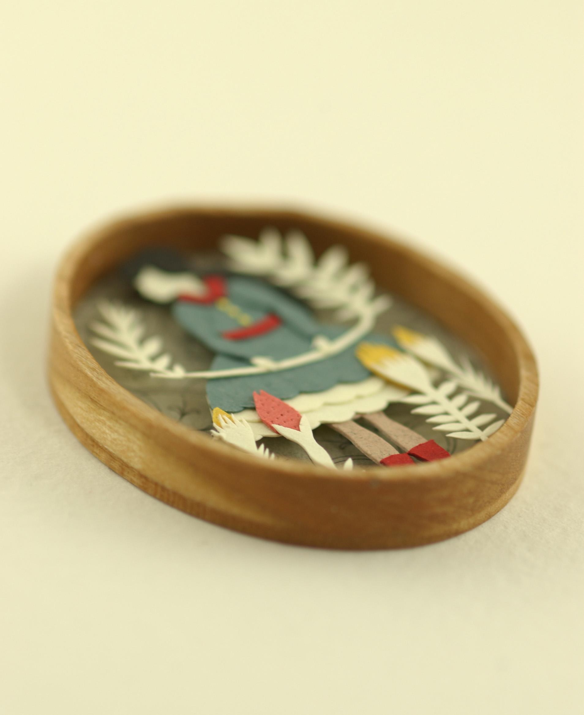 Elsa Mora: Two Miniature Paper Scenes :)