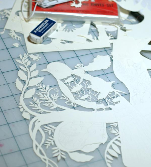 Papercut table copy