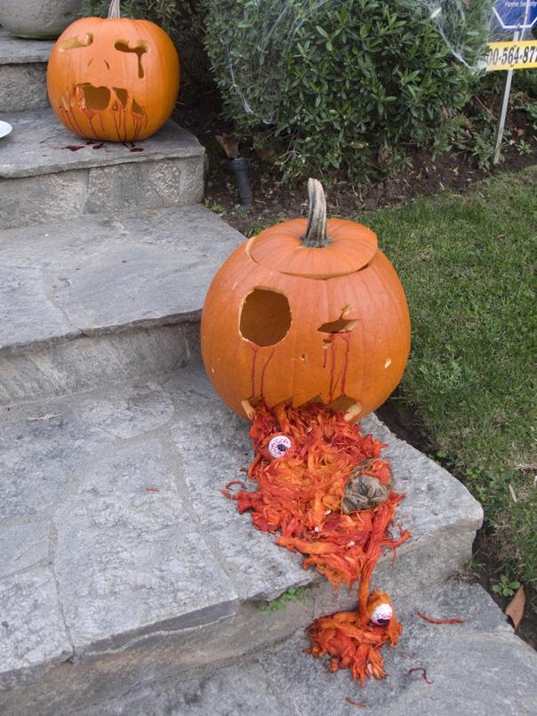 Bloody pumpkin copy