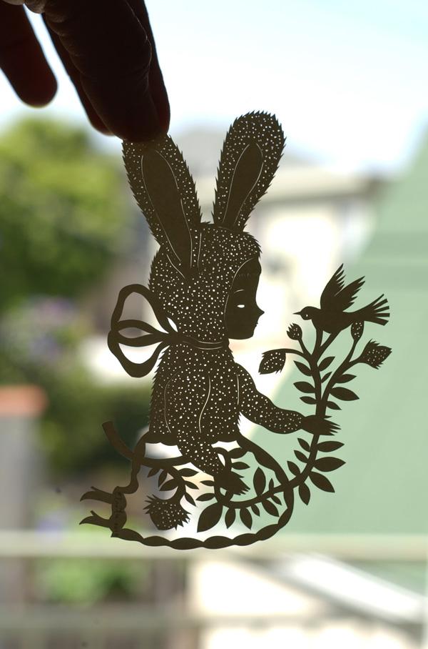 Bunny black 1 small