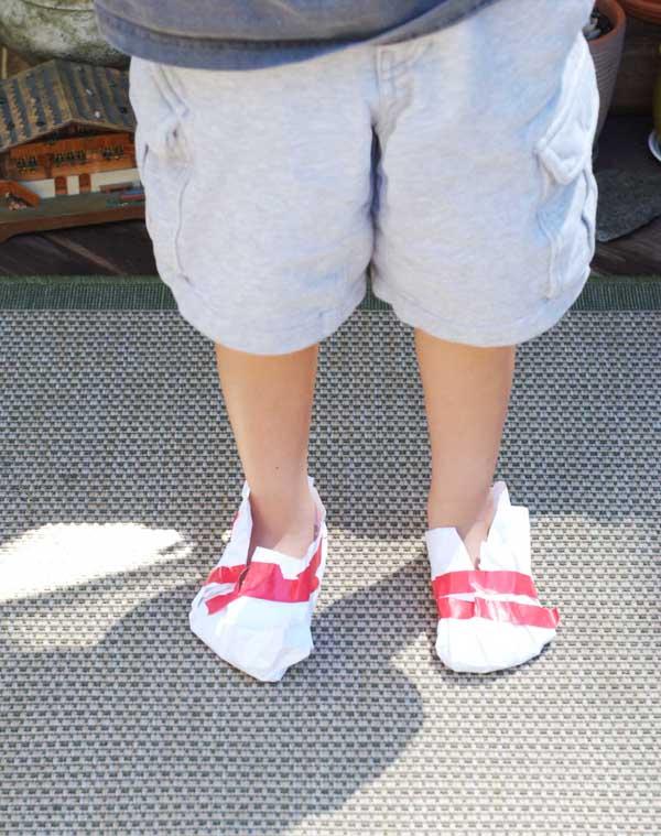 Paper shoes copy