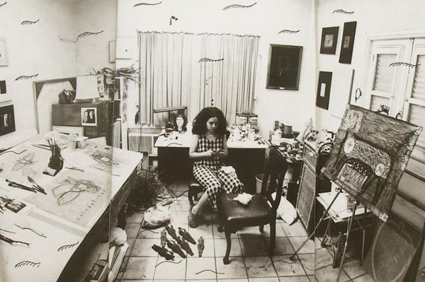 (3)Elsita's studio in Havana (1999)
