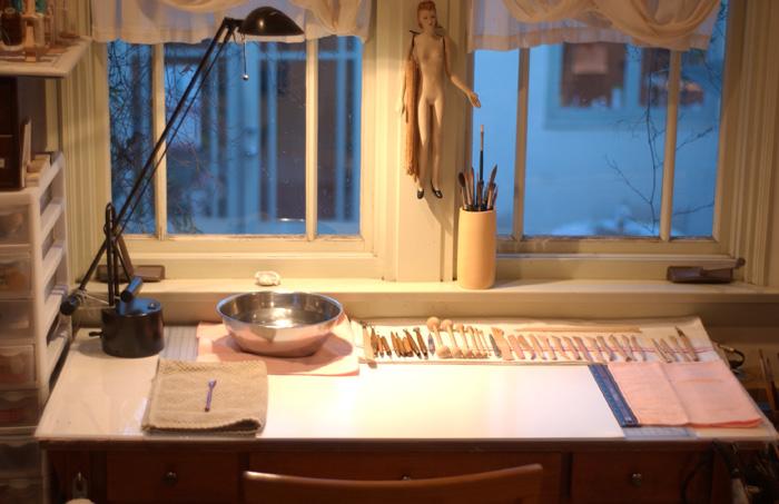 Studio table small