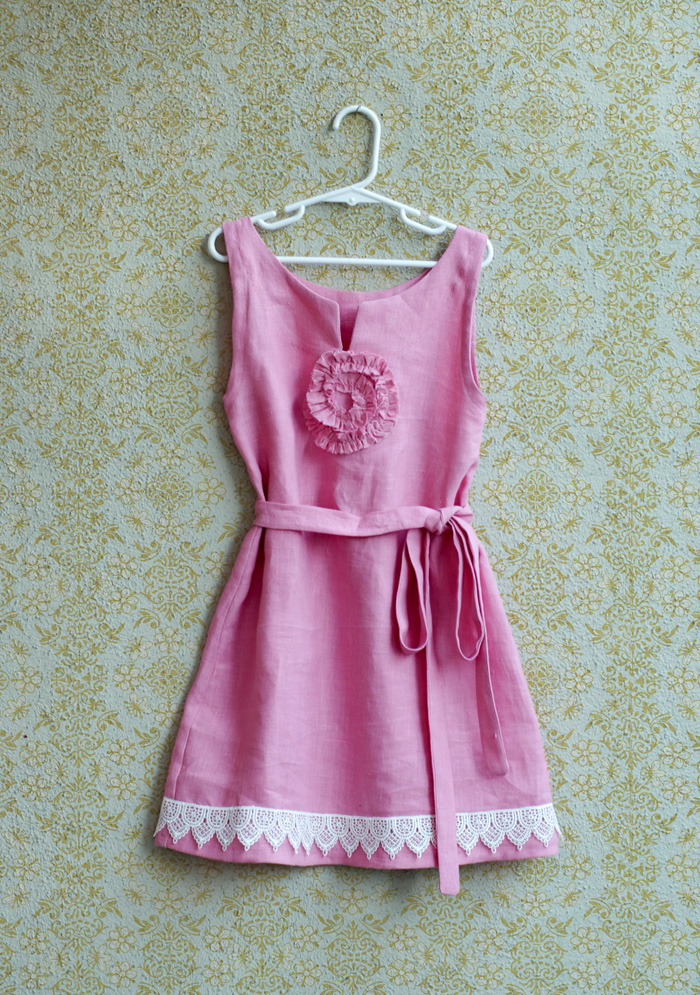 Little Pink Dress small