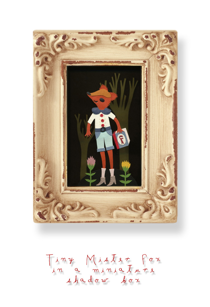 Mister Fox miniature copy