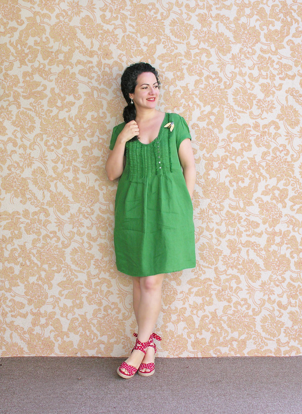 Emerald dress small