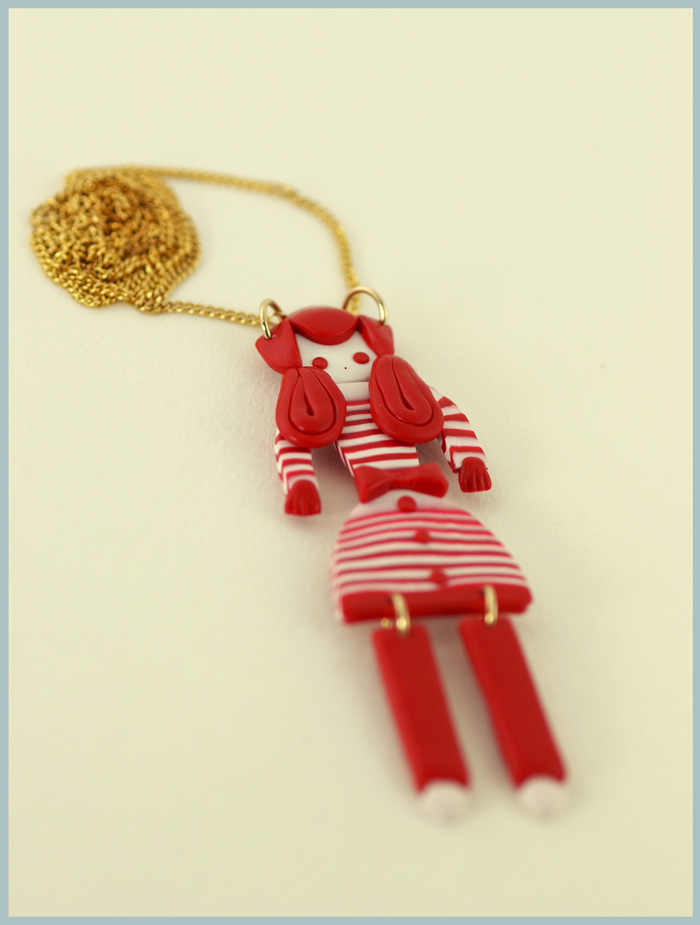 Doll necklace 2 small