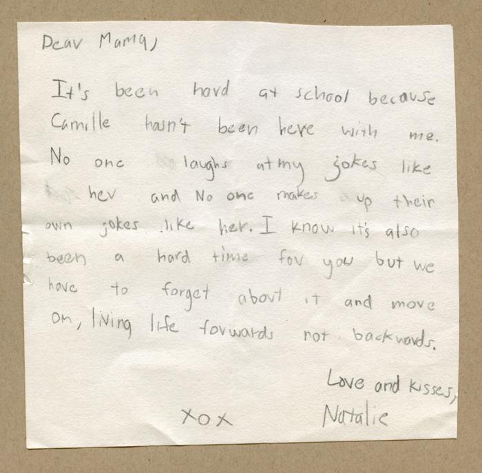 Natalie's note
