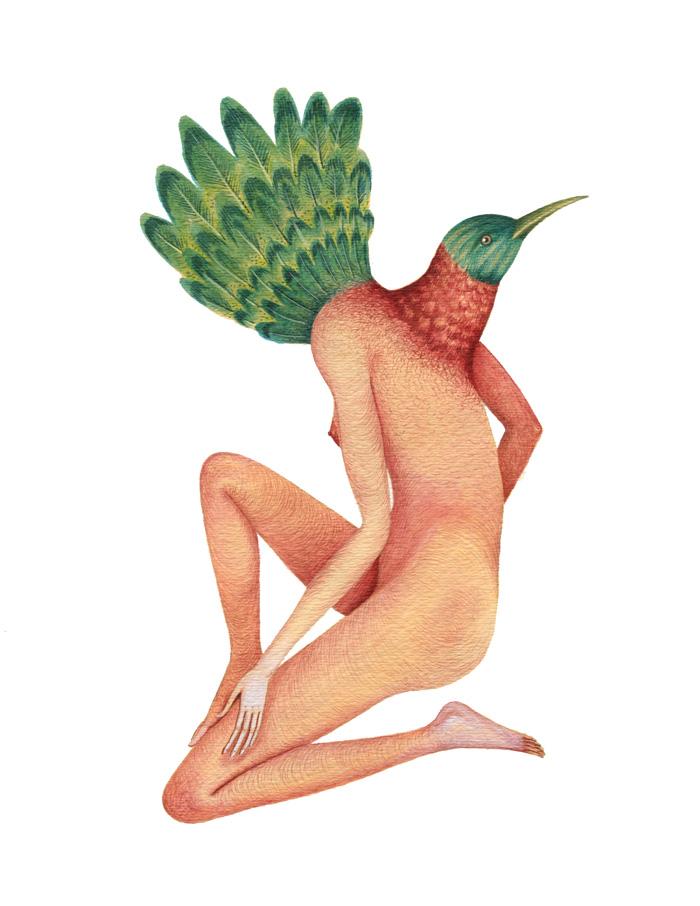 Femina Plantarum #5 8.5x11 SMALL