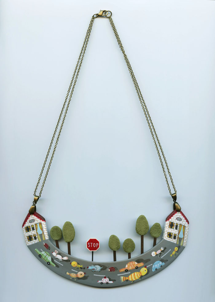 Rush Hour Necklace small