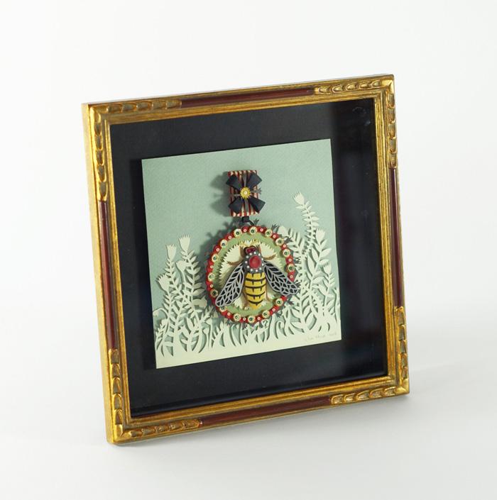 Bee framed copy