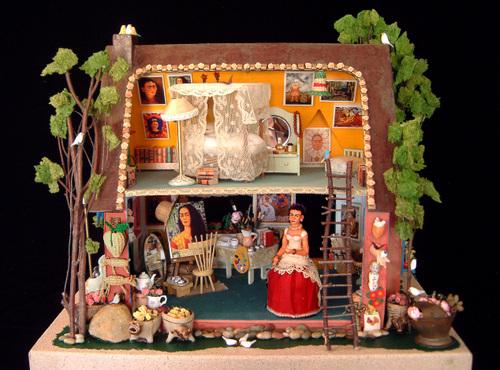 Frida Kahlo's Studio.